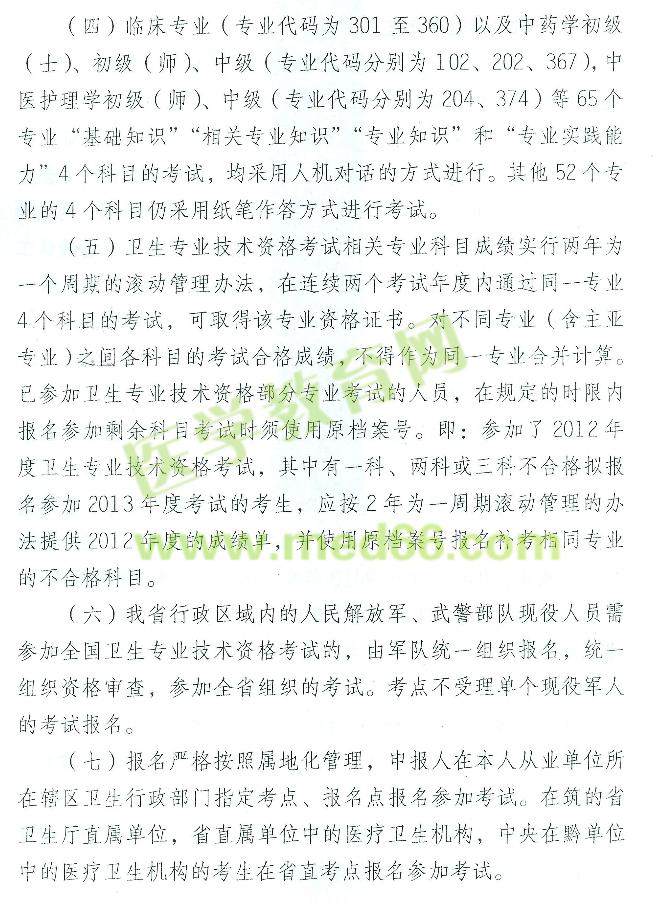 2013年药士报名时间_贵州省2013年卫生专业技术资格考试报名现场确认时间/地点_2013年 ...