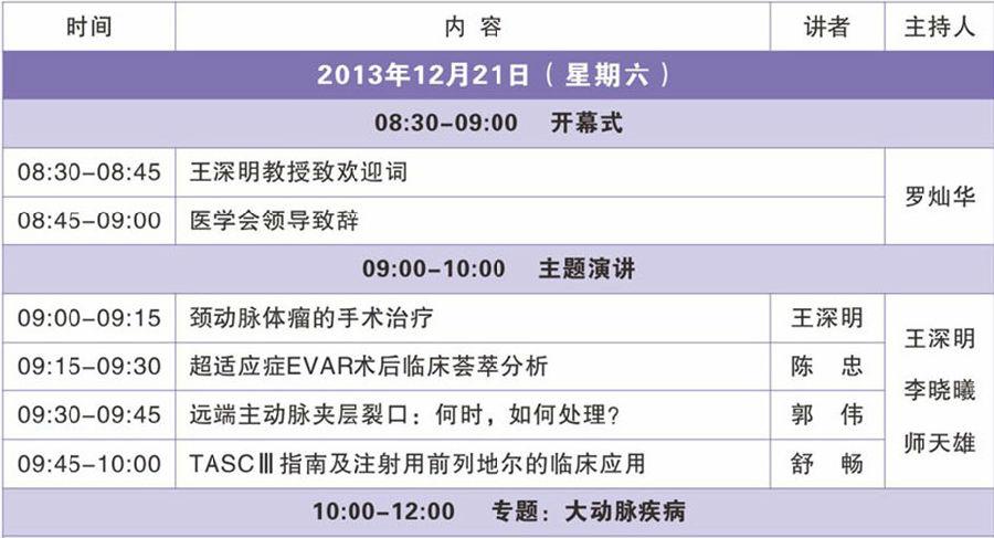 会议议程安排ppt_广东省医学会第七次血管外科学学术会议议程安排