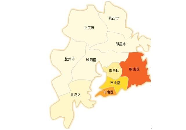 山东省青岛市即墨市地图高清版