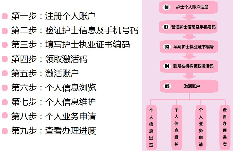 护士电子化注册信息系统使用总结
