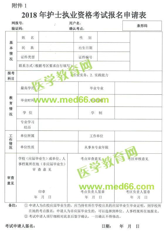 sbf_胜博发_胜博发娱乐_胜博发手机登录注册_2018年护士执业资格考试报名申请表下载