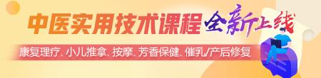 5大类中医实用技术课程(康复/小儿推拿/按摩/芳香/产后)