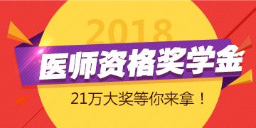 2018年医师奖学金