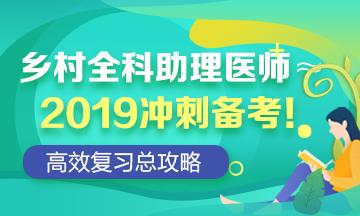 2019乡村冲刺资料