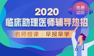 2020年临床助理医师网络辅导课程