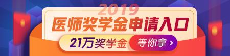 2019年医师21万奖学金申请入口