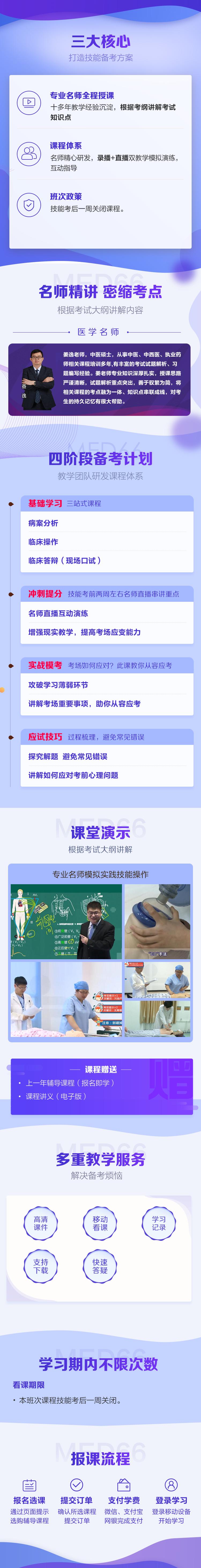 医学教育网中医执业医师技能特色班