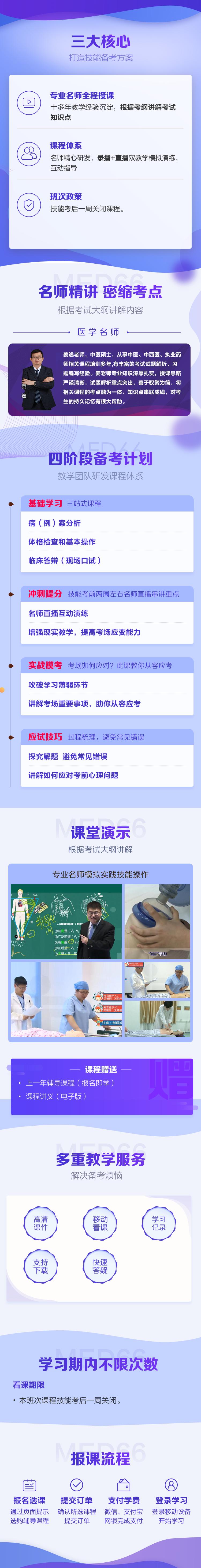 医学教育网中西医执业医师技能特色班