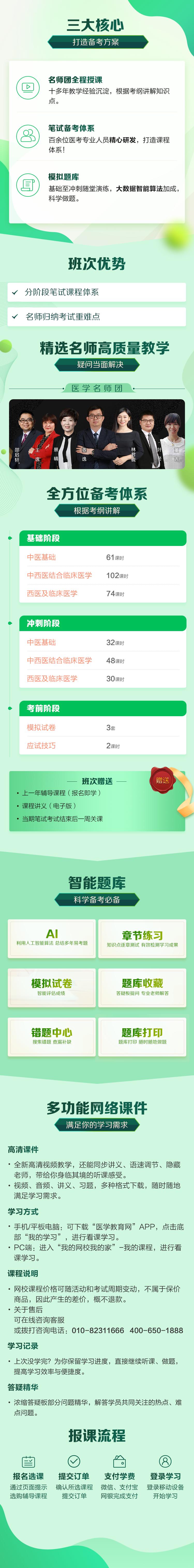 医学教育网中西医执业医师超值精品班