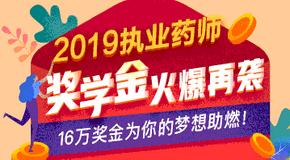2019年执业药师奖学金专题