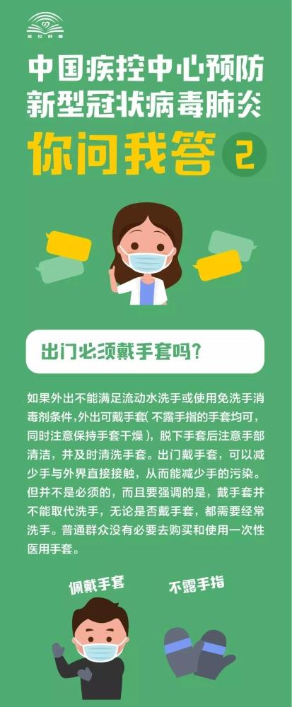 中國疾控中心預防新型冠狀病毒肺炎 你問我答(二)