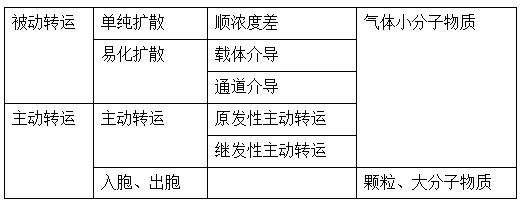 【医疗招聘】细胞膜的物质转运功能知识(辅导资料)