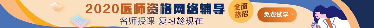 2020年中医执业医师辅导课程