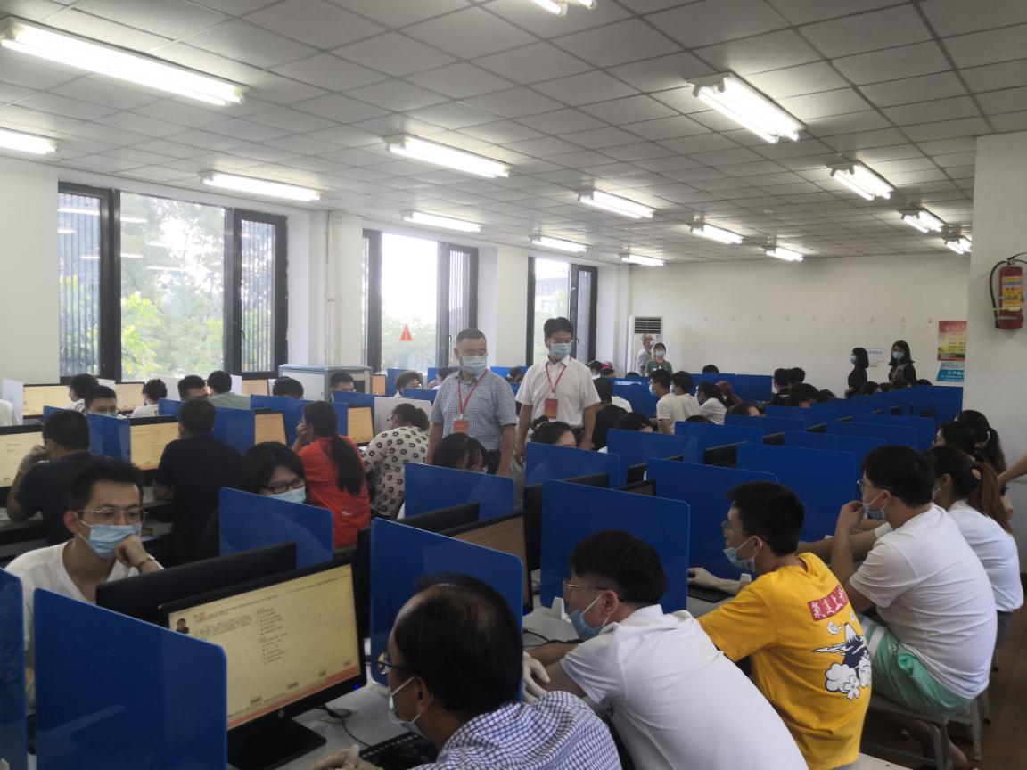 2020年国家医师资格考试工作浙江绍兴考点圆满完成,共1177名考生参考