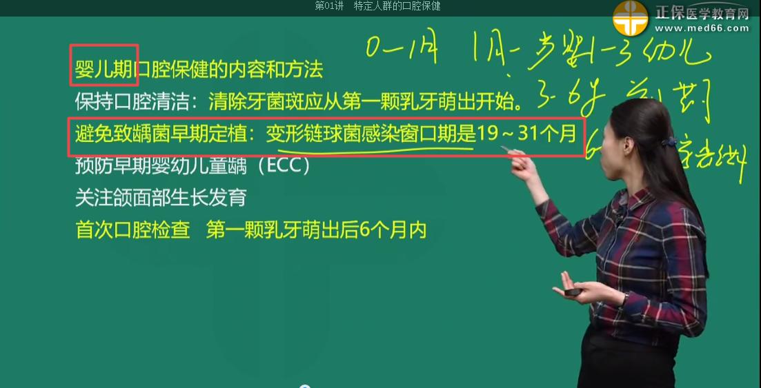 口腔执业医师考试荟萃(第一天)2