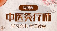 中医灸疗师网络培训课程