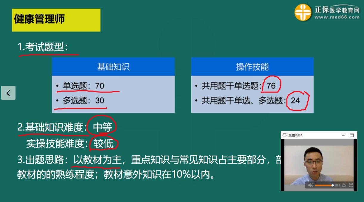 黑龙江健康管理师考试单选题多选题各有多少道?