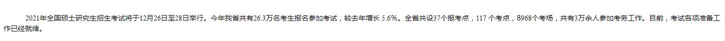 江苏省考研人数