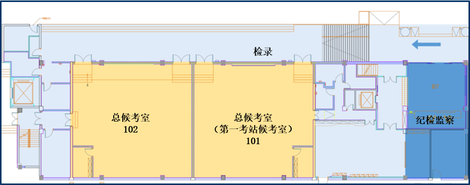 考场平面图