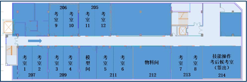 考场平面图1
