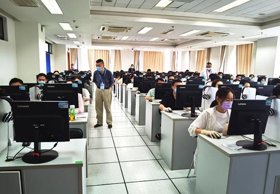 上海考区2021年医师资格医学综合考试顺利完成!近5400人参加考试!